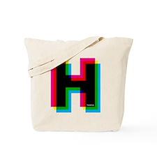 helvetica-h Tote Bag