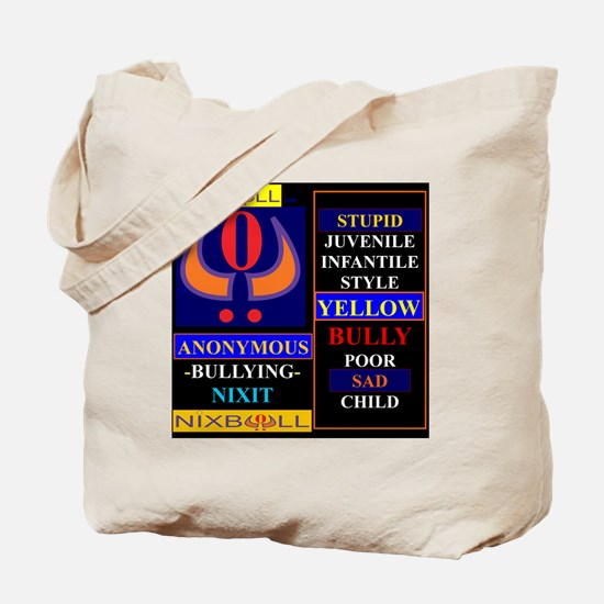 YELLOW CHILD BLK 2 Tote Bag