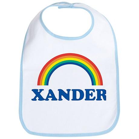 XANDER (rainbow) Bib