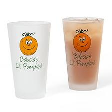 Babcias Little Pumpkin Drinking Glass