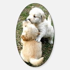 Golden Retriever Puppy Gift iPad Ha Decal