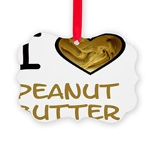 i heart peanut butter w Ornament