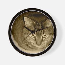 Snuggle-Sepia-M Wall Clock