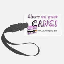 Cans Luggage Tag
