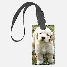 Golden Retriever Puppy iPad Hard Luggage Tag