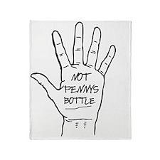 Bottle Throw Blanket