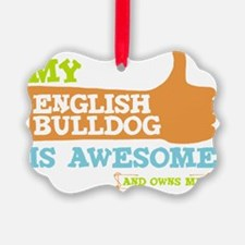 Eng-Bull-Thumbs-UP Ornament