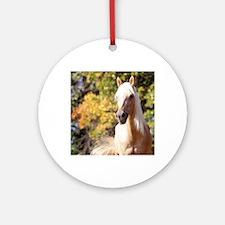 horse-418-6 Round Ornament
