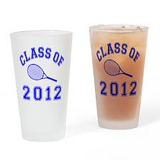 CO2012 Tennis Navy Drinking Glass