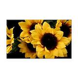 Sunflower Car Magnets