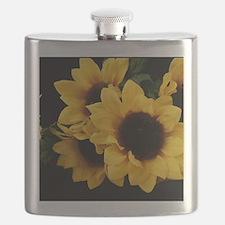 Yellow_Sunflowers Flask
