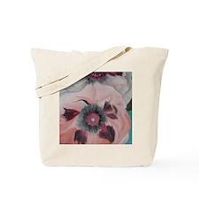 Large Pink Flowers Tote Bag