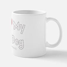 ILOVEMYBLINDDOGW Mug