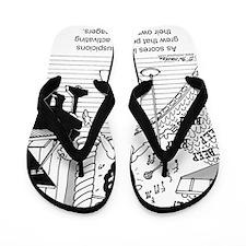 3180_singing_cartoon Flip Flops
