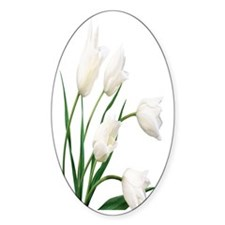Snow With Tulips Decal