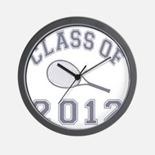 CO2012 Tennis Gray Wall Clock