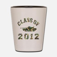 CO2012 Tank Camo Shot Glass