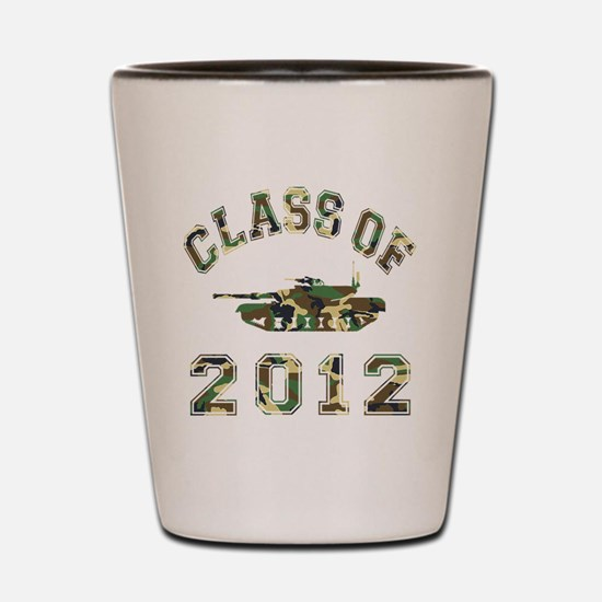 CO2012 Tank Camo Shot Glass