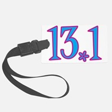 13.1 with flower Luggage Tag