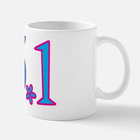 13.1 with flower Mug