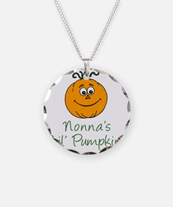 Nonnas Little Pumpkin Necklace