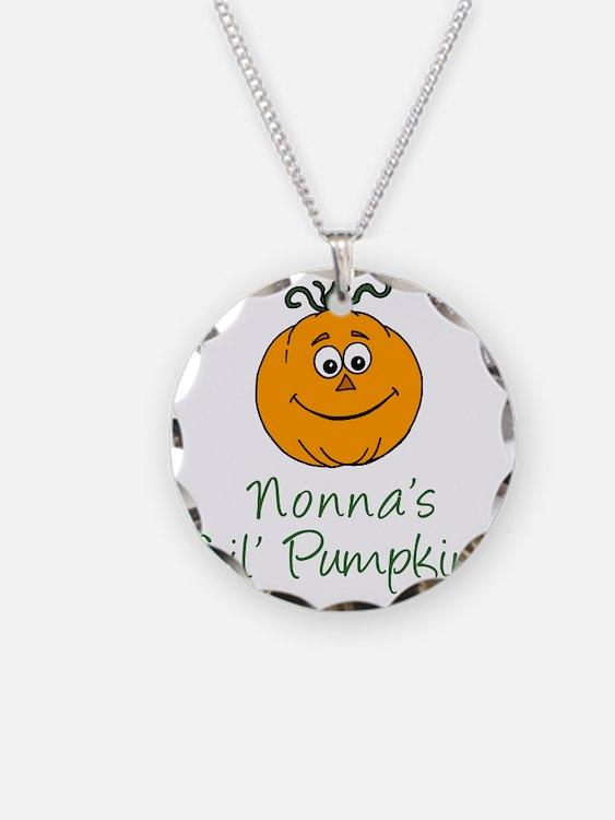 Nonnas Little Pumpkin Necklace