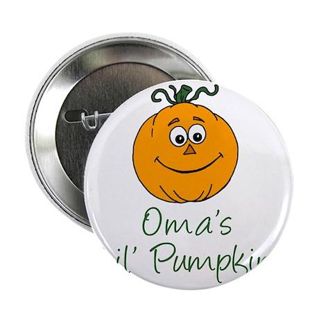 """Omas Little Pumpkin 2.25"""" Button"""
