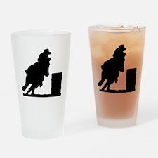10075006%20barrel%20racer Drinking Glass