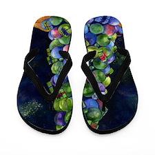 The Sparkle of Christmas Flip Flops