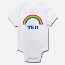 TED (rainbow) Infant Bodysuit