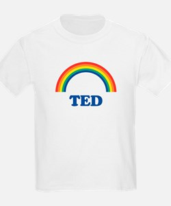 TED (rainbow) Kids T-Shirt