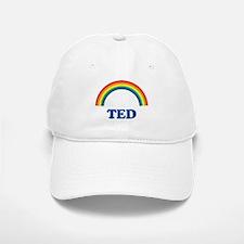 TED (rainbow) Baseball Baseball Cap