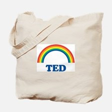 TED (rainbow) Tote Bag