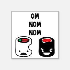 "sushi_cannibal Square Sticker 3"" x 3"""