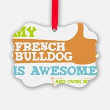 Awesome-Frenchie Ornament