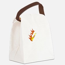 I Tried It At Home White SOT Canvas Lunch Bag