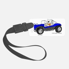 Dune Buggy in Blue TransBackg Bl Luggage Tag