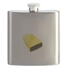 More Cowbell Fever White SOT Flask