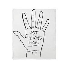 phone Throw Blanket