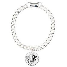 3813_kettle_drum_cartoon Charm Bracelet, One Charm