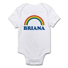BRIANA (rainbow) Infant Bodysuit