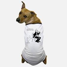 4226_french_horn_cartoon Dog T-Shirt