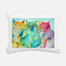 Haleiwa Cats Rectangular Canvas Pillow