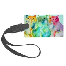 Haleiwa Cats Luggage Tag