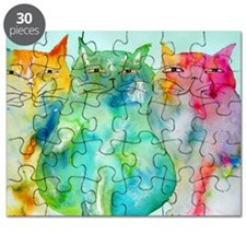 Haleiwa Cats Puzzle