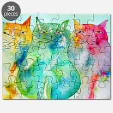 Haleiwa Cats Puzzle