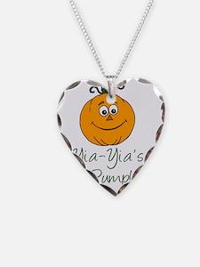 Yia-Yias Little Pumpkin Necklace