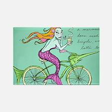 bike-maid Rectangle Magnet