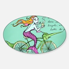 bike-maid Sticker (Oval)