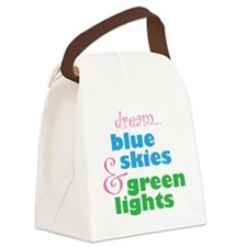 The Skydivers Dream Canvas Lunch Bag